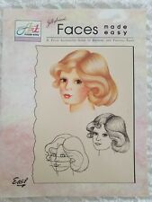 Jillybean's ART MADE EASY Illustrated Guide to Drawing & Painting Faces
