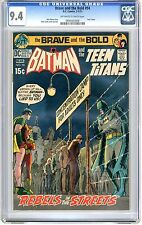 Brave and the Bold  #94  CGC  9.4  NM  off - white to white pages