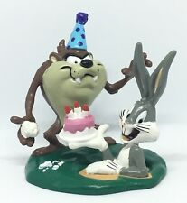 Looney Tunes Taz and Bugs Birthday Party Figurine by Applause, Warner Bros 1995
