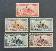 nystamps Viet Nam Stamp # 30-34 Mint OG H $51