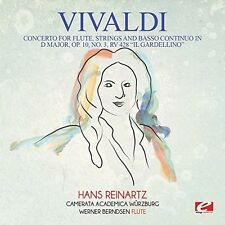 Concerto For Flute Strings & Basso Continuo In D - Vivaldi (2015, CD NEUF)