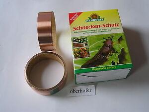 Neudorff Schneckenschutz  2 x 4 m Selbstklebendes Schneckenband Kupfer