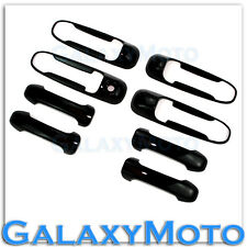 05-10 Dodge Dakota Gloss Shiny Black 4 Door Handle No Passenger Keyhole Cover