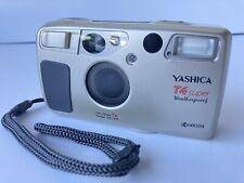 Yashica T4 Super 35mm Film Camera Zeiss Lens Kyocera Gold T*                   5