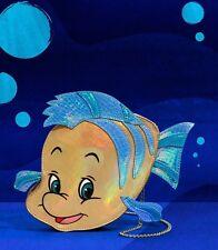 Disney Danielle Nicole Ariel The Little Mermaid Flounder Crossbody Purse Bag NWT