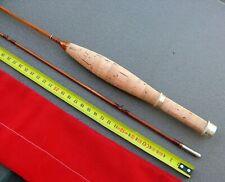 CANNE MOUCHE bambou refendu pêche  Fly Rod fishing Bamboo split Cane line reel 3