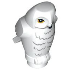 Lego Animal White Owl (From 75954) Harry Potter Chouette Hibou Figurine New