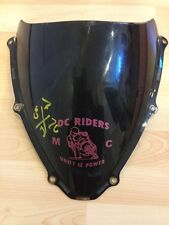 06 07 GSXR 600 750 OEM Windscreen Windshield Black Screen Shield Nose DOT-280 E*
