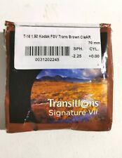 Kodak Transitions Signature VII T-16 1.50 FSV Trans Brown CleAR 70mm - 2.25