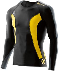 Skins DNAmic Dynamic Compression Longsleeve Compressionshirt black DA99050059238