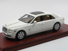 TSM MODEL - 2012 Rolls-Royce Ghost EWB Extended Wheelbase White 1/43