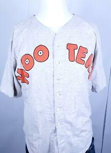 Vintage Men's Gray Phoenix Arizona Hooters Cotton Jersey Number 00 Size Large