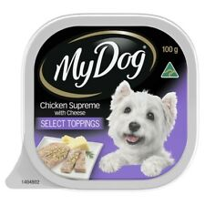 My Dog Chicken Supreme With Cheese Wet Dog Food Tray 100g