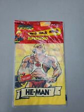 """Vintage 1984 Masters of the Universe He-Man Superglobo Inflatable 7"""" SEALED"""