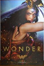 WONDER WOMAN Movie Promo Poster SDCC 2017 11 x 17 Gal Gado 'Wonder'