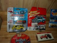Lot of 7 collectable toy vehicles Johnny Lightning Maisto Hot Wheels Badd Ride
