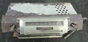 1942 46 47 48 Lincoln Zephyr Continental AM Radio Stereo Town Car Untested OEM