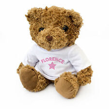 NEW - FLORENCE - Teddy Bear - Cute And Cuddly - Gift Present Birthday Xmas