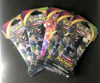 POKEMON SWORD & SHIELD VIVID VOLTAGE BOOSTER PACK LOT OF 5 FACTORY SEALED NEW!!!