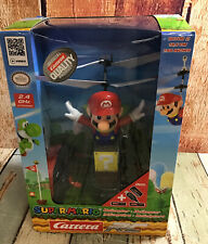 "Carrera RC Helicopter Super Mario "" Read "" ( Opened Box)"