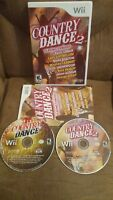 Country Dance 1 & 2 Nintendo Wii Game Set