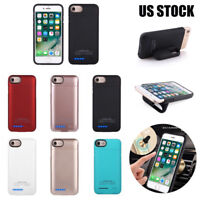 4200mah Magnetic Battery Power Bank Charger Case Cover for iPhone 6/6S/7/8 Plus