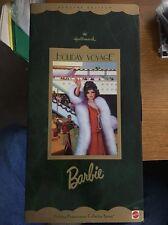 Hallmark Holiday  Voyage Barbie 1997 Mint NEW NRFB Doll