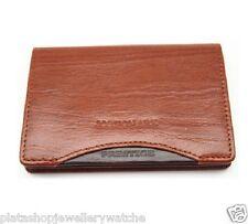 Jos Von Arx Collection Designer Leather Business Card Holder IL10