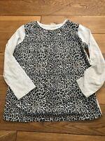 Girls ZARA Animal Print Blouse T Shirt Top Girls Age 9-10 Years