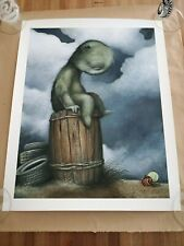 Dan May Before the Storm poster print MINT Signed/Numbered COA RARE