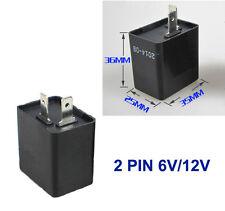 6V/12V Turn Signal Flasher Blinker Relay 2 Pin Motorcycle LED Indicator Light