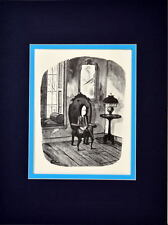 Chas ADDAMS FAMILY WEDNESDAY LOOKING FOR HELP PULLING A TOOTH PRINT PRO MATTED