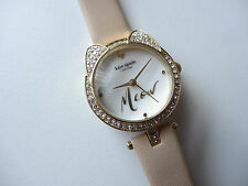 Kate Spade Novelty KSW1151 Women's Watch With Beige Leather Strap