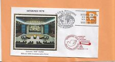 INTERPEX MAR 8,1979 NEW YORK ASDA COVER # 2  COLORANO SILK CACHET