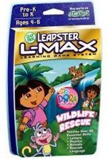 New Leapfrog Leapster LMax Dora Explorer Wildlife Rescue Game kindergarten