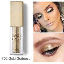 Glitter Liquid Eyeshadow Shimmer Metallic Highlighter Eyeliner Glow Combination