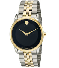 Movado 0606899 Yellow Gold PVD-finished Case Museum Classic Swiss Men's Watch