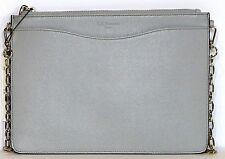 L.K. Bennett London Rachel Leather Pouch Crossbody Mist NWT4185.00
