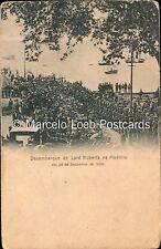 PORTUGAL DESEMBARQUE DE LORD ROBERTS NA MADEIRA EM 26 DE DEZEMBRO DE 1900