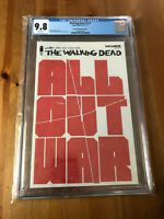Walking Dead #115 CGC 9.8 ALL OUT WAR Skybound Megabox Exclusive Variant Cover