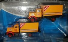 Pack Of 2 Mini Metals 1:160 N Scale Nabisco White Super Power Delivery Vans