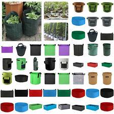 3/5/7/10/20/40 Gallon Potato Grow Planter Container Bag Root Plant Growing Pot