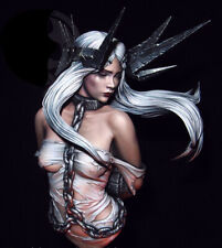 1/10 Resin Figure Bust Beauty Fantasy Girl in Chains Unassembled Unpainted 3330