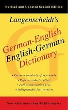 German-English Dictionary, Second Edition by Langenscheidt Editorial Staff...