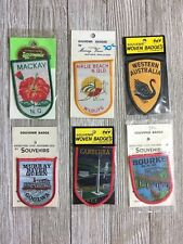 Australian Souvenir Badges Nice Lot New Old Stock Vintage Patches