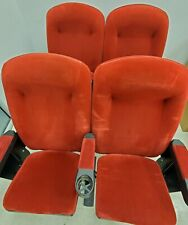 HOME THEATER SEATING real cinema movie chair seats RED Velvet