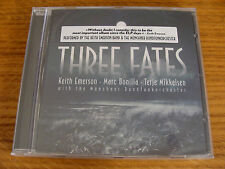 CD Album: Keith Emerson Band : Three Fates : Marc Bonilla, Terje Mikkelse Sealed