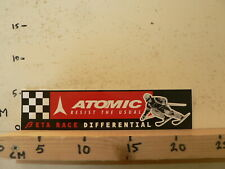 STICKER,DECAL LARGE STICKER ATOMIC RESIST THE USUAL BETA RACE DIFFERENTAL SKI