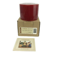 Longaberger Pint Size Pillar Candle - Cinnamon Clove - New #90062
