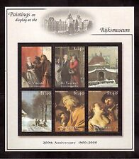 ST.VINCENT & THE GRENADINES 2001 #2867 S/S MINT NH PAINTINGS OF RIJKSMUSEUM !!